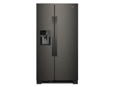 "36"" Whirlpool 24.55 cu ft, Full-Depth Side-by-Side Refrigerator- WRS325SDHV"