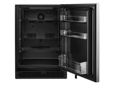 "24"" Whirlpool Undercounter Refrigerator with Towel Bar Handle - 5.1 cu. ft. - WUR35X24HZ"