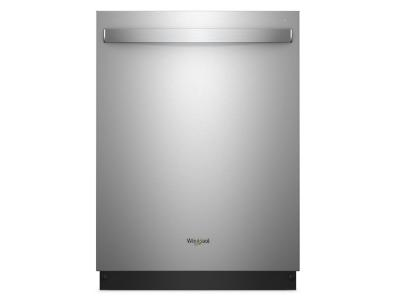 Whirlpool Stainless Steel Tub Dishwasher with Third Level Rack - WDT970SAHZ
