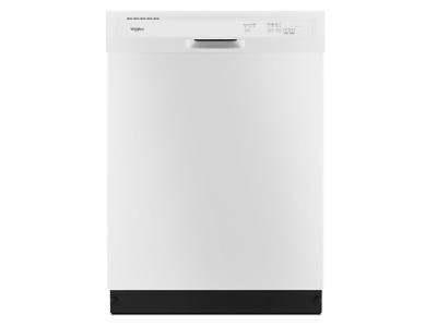 Whirlpool Heavy-Duty Dishwasher with 1-Hour Wash Cycle - WDF330PAHW