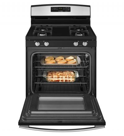 "30"" Amana Gas Range with Self-Clean Option - AGR6603SFW"