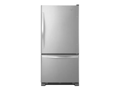 Whirlpool 22 cu. ft. Bottom-Freezer Refrigerator WRB322DMBM
