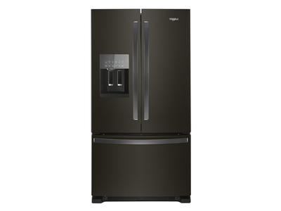 "36"" Whirlpool French Door Refrigerator in Fingerprint-Resistant Stainless Steel - 25 cu. ft. - WRF555SDHV"