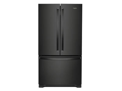 "36"" Whirlpool Counter Depth French Door Refrigerator - 20 cu. ft. - WRF540CWHB"