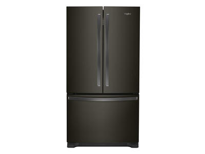 "36"" Whirlpool Counter Depth French Door Refrigerator - 20 cu. ft. - WRF540CWHV"