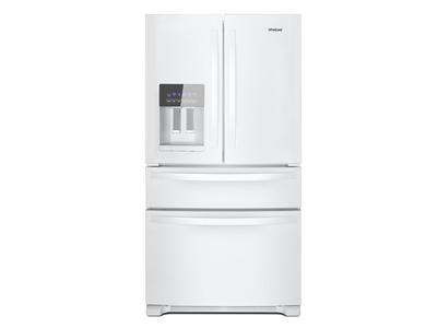 "36"" Whirlpool French Door Refrigerator - 25 cu. ft. - WRX735SDHW"