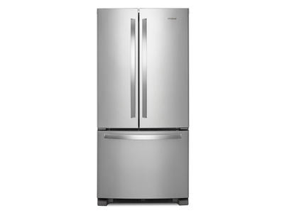 "33"" Whirlpool French Door Refrigerator - 22 cu. ft. - WRF532SMHZ"