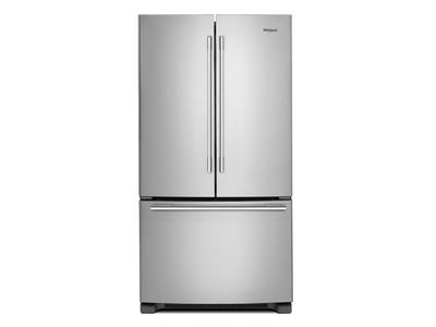 "33"" Whirlpool French Door Refrigerator - 22 cu. ft. - WRFA32SMHZ"