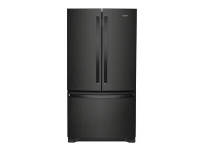 "36"" Whirlpool French Door Refrigerator with Crisper Drawer - 25 cu. ft. - WRF535SMHB"