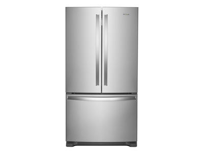 "36"" Whirlpool French Door Refrigerator with Crisper Drawer - 25 cu. ft. - WRF535SMHZ"