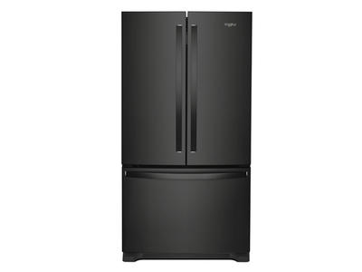 "36"" Whirlpool French Door Refrigerator with Water Dispenser - 25 cu. ft. - WRF535SWHB"