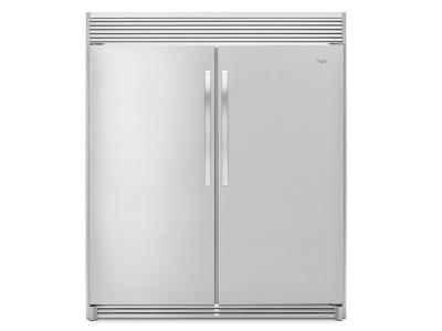 "31"" Whirlpool SideKicks All-Refrigerator with LED Lighting - 18 cu. ft. - WSR57R18DM"