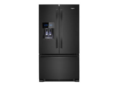 "36"" Whirlpool  Wide French Door Refrigerator 25 cu. ft. WRF555SDHB"