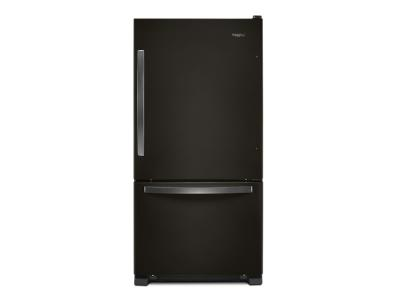 "33"" Whirlpool wide Bottom-Freezer Refrigerator - 22 cu. ft. WRB322DMHV"