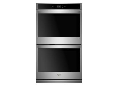 "27"" Whirlpool 8.6 cu. ft. Smart Double Wall Oven with Touchscreen - WOD51EC7HS"
