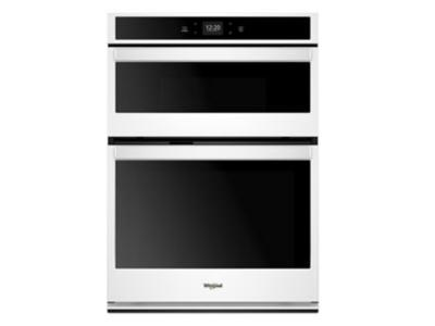 "30"" Whirlpool 6.4 cu. ft. Smart Combination Wall Oven with Touchscreen - WOC54EC0HW"