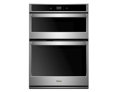 "30"" Whirlpool 6.4 cu. ft. Smart Combination Wall Oven with Touchscreen - WOC54EC0HS"
