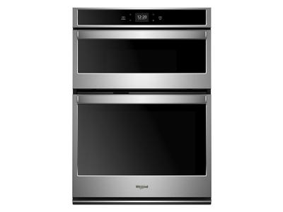 "27"" Whirlpool 5.7 cu. ft. Smart Combination Wall Oven with Touchscreen - WOC54EC7HS"