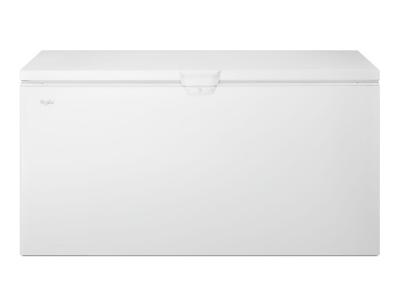 "67"" Whirlpool 22 cu. ft. Chest Freezer with Extra-Large Capacity - WZC3122DW"