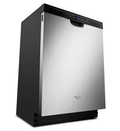 "24"" Whirlpool Dishwasher with Adaptive Wash Technology - WDF560SAFM"