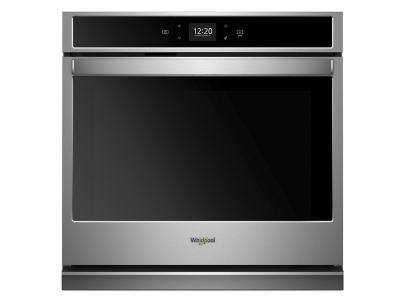 "27"" Whirlpool 4.3 cu. ft. Smart Single Wall Oven with Touchscreen - WOS51EC7HS"