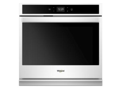"30"" Whirlpool 5.0 cu. ft. Smart Single Wall Oven with Touchscreen - WOS51EC0HW"