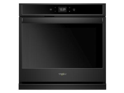 """30"""" Whirlpool 5.0 Cu. Ft. Smart Single Wall Oven With Touchscreen - WOS51EC0HB"""