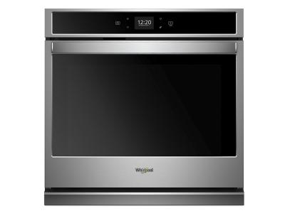 "30"" Whirlpool 5.0 cu. ft. Smart Single Wall Oven with Touchscreen - WOS51EC0HS"