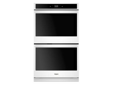 "30"" Whirlpool 10.0 cu. ft. Smart Double Wall Oven with Touchscreen - WOD51EC0HW"