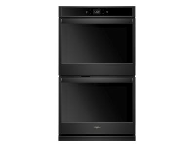 """30"""" Whirlpool 10.0 Cu. Ft. Smart Double Wall Oven With Touchscreen - WOD51EC0HB"""