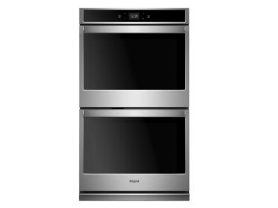 """30"""" Whirlpool 10.0 Cu. Ft. Smart Double Wall Oven With Touchscreen - WOD51EC0HS"""