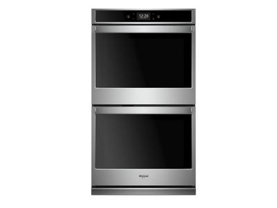 "30"" Whirlpool 10.0 cu. ft. Smart Double Wall Oven with True Convection Cooking - WOD77EC0HS"