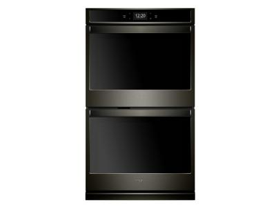 "30"" Whirlpool 10.0 cu. ft. Smart Double Wall Oven with True Convection Cooking - WOD77EC0HV"