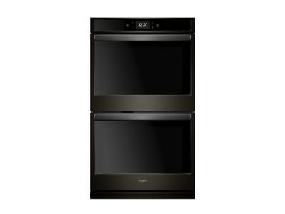 "27"" Whirlpool 8.6 cu. ft. Smart Double Wall Oven with True Convection Cooking - WOD77EC7HV"