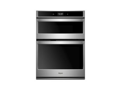 "27"" Whirlpool 5.7 cu. ft. Smart Combination Wall Oven with Touchscreen - WOC75EC7HS"