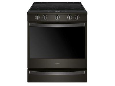 "30"" Whirlpool 6.4 Cu. Ft. Smart Slide-in Electric Range with Frozen Bake Technology - YWEE750H0HV"