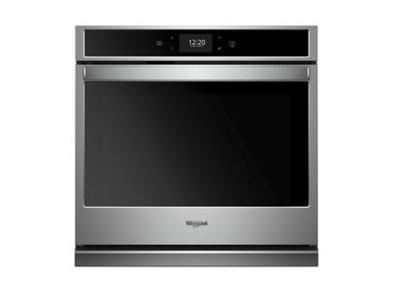 "30"" Whirlpool 5.0 cu. ft. Smart Single Wall Oven with True Convection Cooking - WOS72EC0HS"