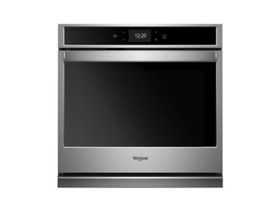 """27"""" Whirlpool 4.3 Cu. Ft. Smart Single Wall Oven With True Convection Cooking - WOS72EC7HS"""