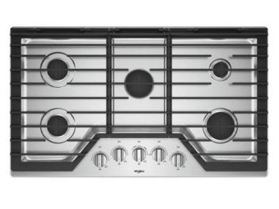 "36"" Whirlpool Cooktop with Griddle - WCG97US6HS"