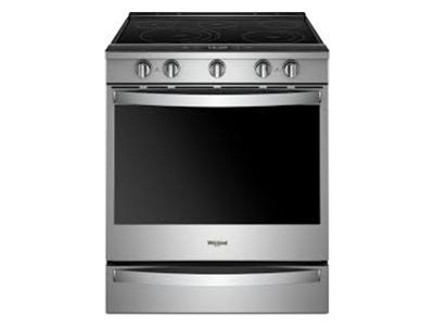 "30"" 6.4 Cu. Ft. Smart Slide-in Electric Range with Frozen Bake Technology - YWEE750H0HZ"