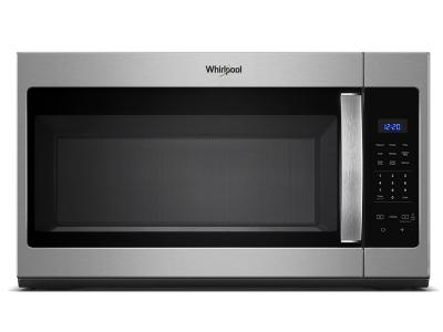 "30"" Whirlpool 1.7 cu. ft. Microwave Hood Combination with Electronic Touch Controls YWMH31017HZ"