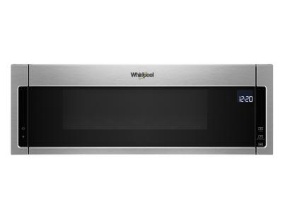 "30"" Whirlpool 1.1 cu. ft. Low Profile Microwave Hood Combination YWML75011HZ"
