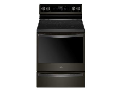 Whirlpool 6.4 Cu. Ft. Smart Freestanding Electric Range with Frozen Bake Technology - YWFE975H0HV