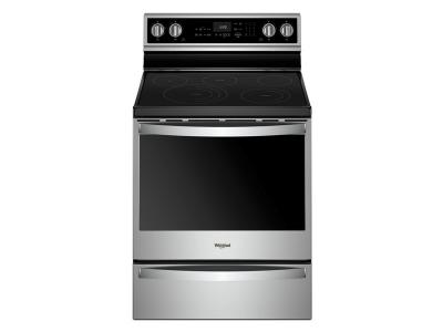 Whirlpool 6.4 Cu. Ft. Smart Freestanding Electric Range with Frozen Bake Technology - YWFE975H0HZ