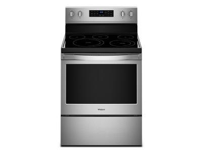 Whirlpool 5.3 cu. ft. Freestanding Electric Range with Fan Convection Cooking - YWFE550S0HZ