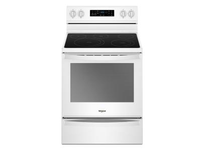 Whirlpool 6.4 Cu. Ft. Freestanding Electric Range with Frozen Bake Technology - YWFE775H0HW