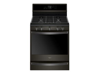 Whirlpool 5.8 Cu. Ft. Smart Freestanding Gas Range with EZ-2-Lift  Grates - WFG975H0HV