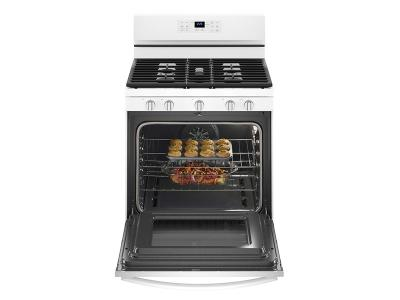 Whirlpool 5.0 cu. ft. Freestanding Gas Range with Fan Convection Cooking - WFG550S0HW
