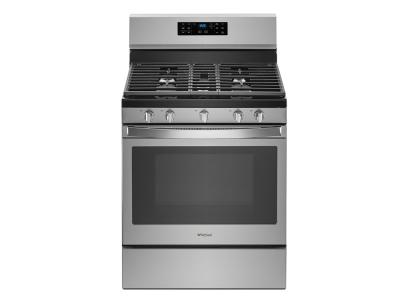 Whirlpool 5.0 cu. ft. Freestanding Gas Range with Fan Convection Cooking - WFG550S0HZ