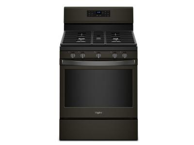 """30"""" Whirlpool 5.0 Cu. Ft. Freestanding Gas Range With Fan Convection Cooking - WFG550S0HV"""